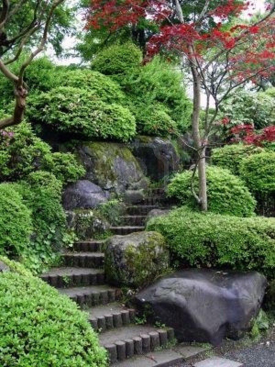 Ландшафтный дизайн восточный стиль